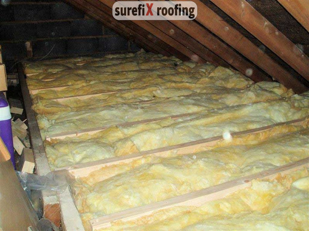 Attic Insulation And Wall Warm Boarding In Dublin