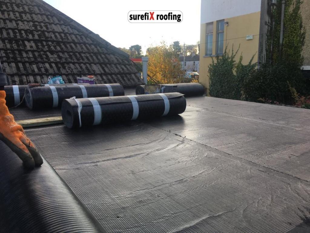 Felt Roofing Installation In Greystones Wicklow Surefix