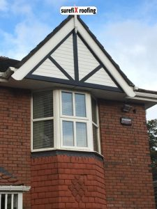 New uPVC Fascia and Soffits in Enniskerry, Wicklow
